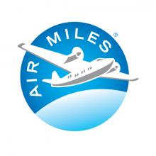 Air Miles plane logo blue